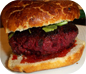 Lamb Beetroot Burger Recipe