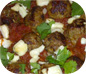 Lamb Meatballs with Bloody Mary Sauce