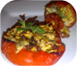 Yemista - Stuffed Peppers and Tomatoes